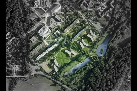 Page\Park's winning design for Warrick University halls